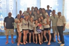Venere Azzurra terza classificata finali nazionali Under 15