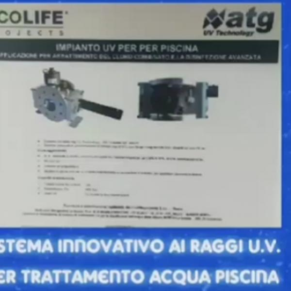 Piscina mori u.v. technology trattamento acqua