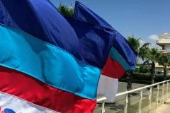 Bandiere Venere Azzurra