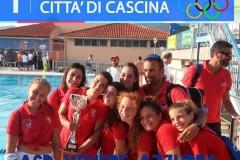 Venere Azzurra U15 vincitrice primo trofeo internazionale città di Cascina