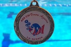 Venere Azzurra medaglia Corsi Nuoto