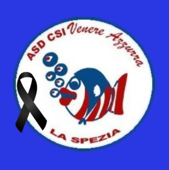 Logo con nastro lutto