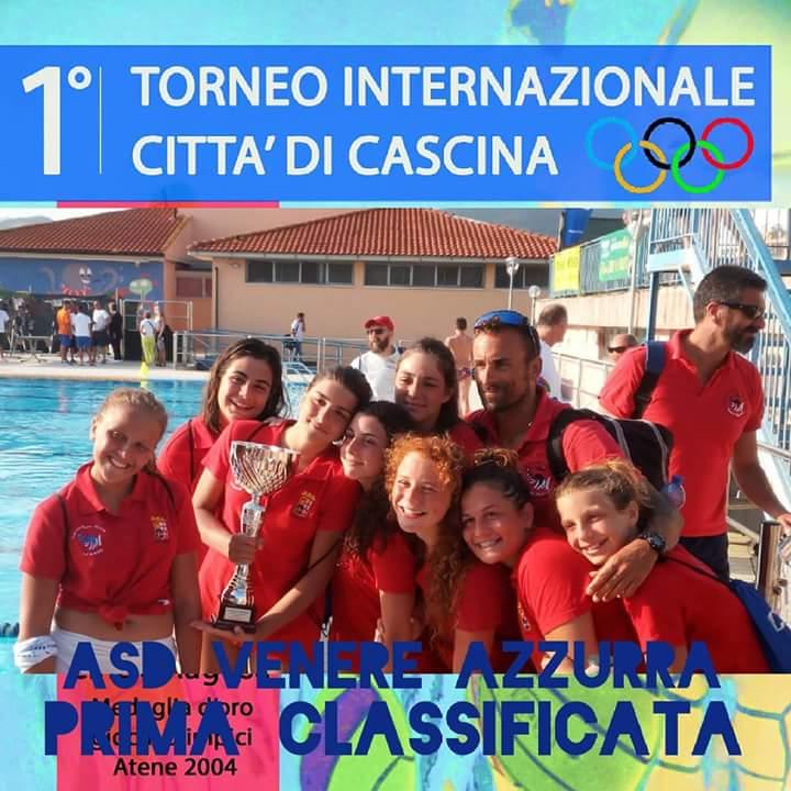 Venere Azzurra U15 vittoria torneo città di Cascina